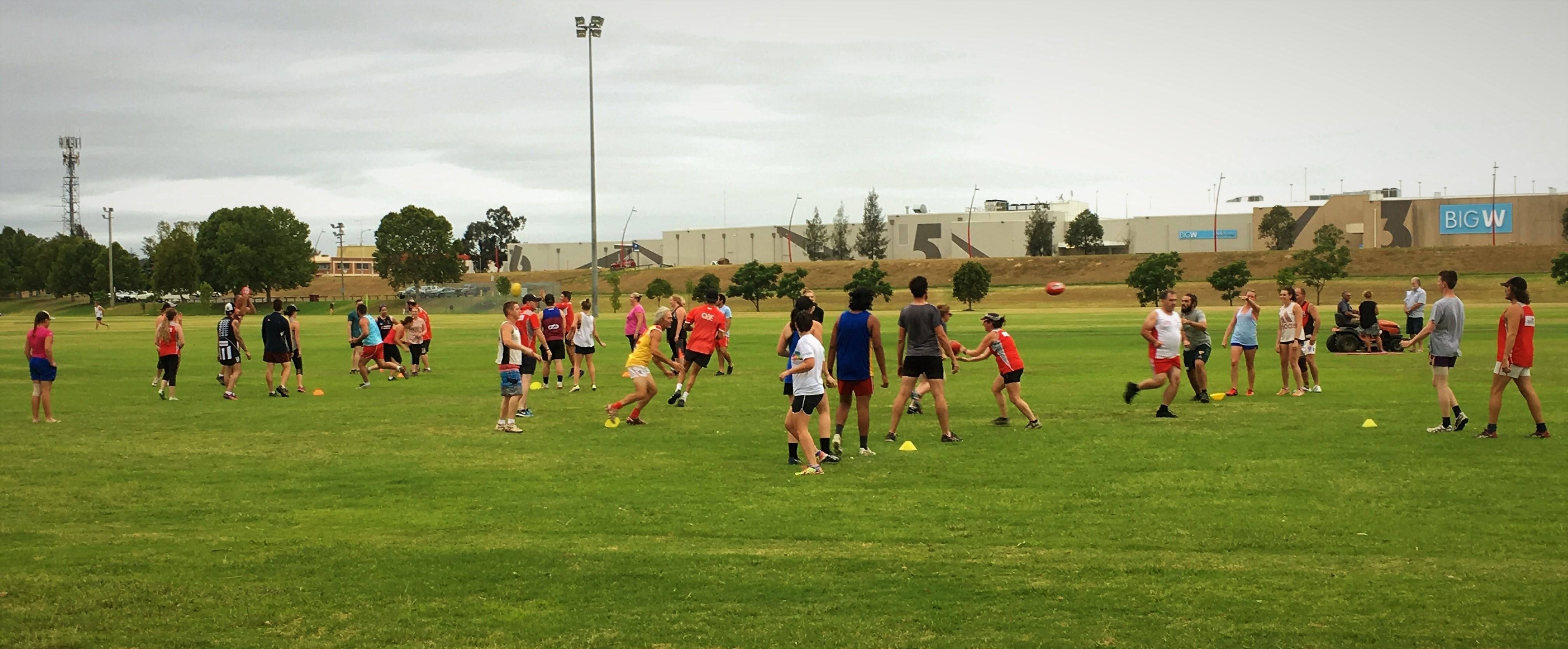 mixed training 2017